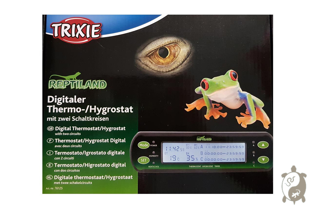 Thermo-Hygrostat digital