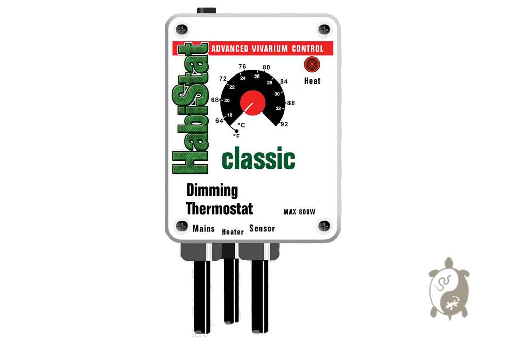 HabiStat. Dimming Thermostat Classic Blanc